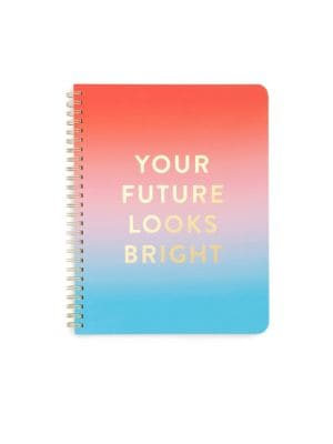 Your Future Looks Bright Spiral Notebook