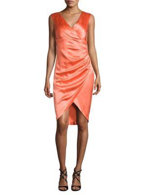 Stretch Satin Dress