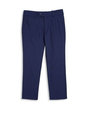 Boy's Solid Suit Pants