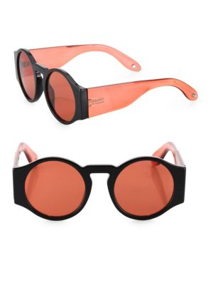51MM Runway Round Sunglasses