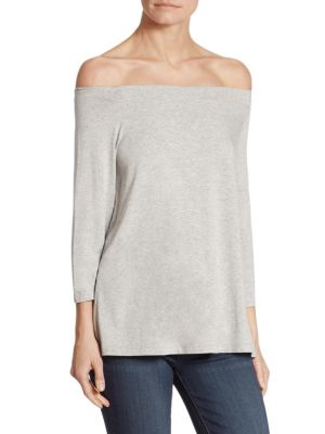 Off-The-Shoulder Jersey Top by HATCH