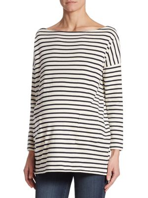 Everyday Striped Bateau Top by HATCH