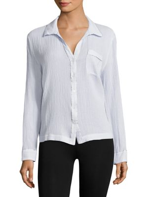 Textured Organic Cotton Shirt