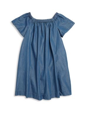 Toddler's, Little Girls & Girls Chambray Dress