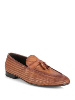 Lido Tassel Leather Loafers