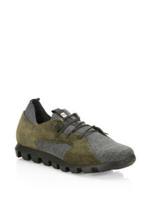 Techmerino Suede Sneakers