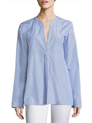Ofeliah Striped Cotton Shirt