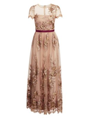 3D Embroidered Gown