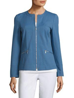 Arian Collarless Jacket