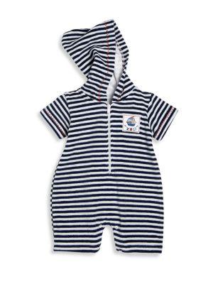 Baby's Seven Seas Stripe Romper