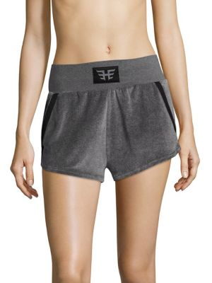 Velour Sport Shorts by Heroine Sport