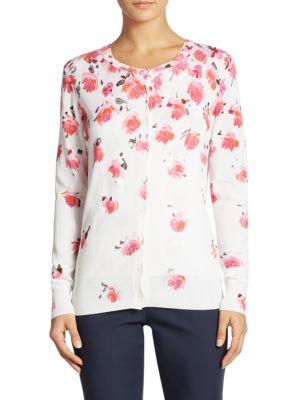 Floral Knit Cardigan