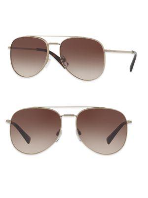Glamtech 56MM Aviator Sunglasses