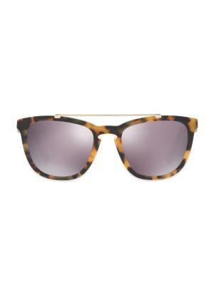 Rockloop 54MM Mirrored Square Sunglasses