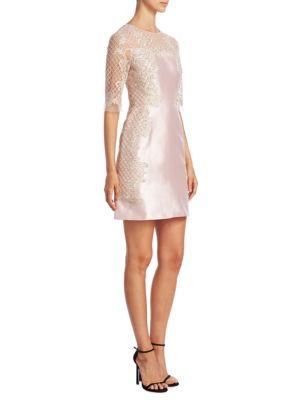 Silk & Wool Lace Dress