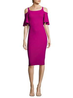 Lupe Cold-Shoulder Sheath Dress