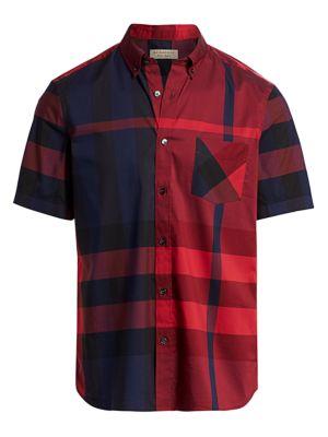 Thornaby Check Short Sleeve Shirt