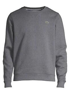라코스테 스웨터 Lacoste Fleece Crewneck Sweatshirt