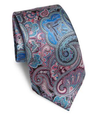 Quindici Paisley Silk Tie