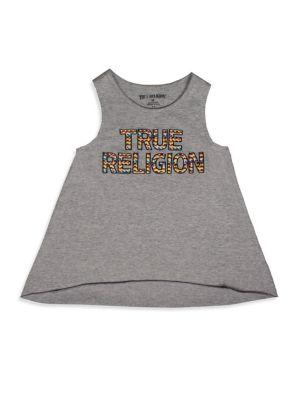 Toddler's, Little Girl's, Girl's Aztec Tank Top