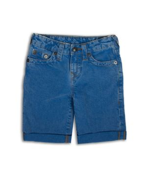 Boy's Washed Shorts