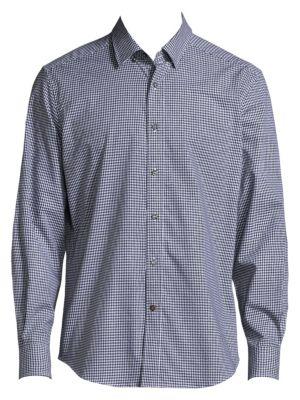 Wade Regular-Fit Checkered Shirt