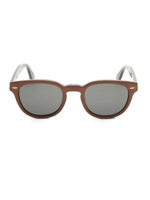 Sheldrake 49MM Cat Eye Sunglasses