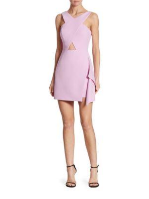 X-Front Cutout Dress