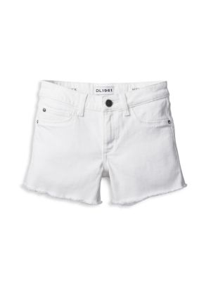 Toddler's, Little Girl's, & Girl's Lucy Solid Cut-Off Shorts