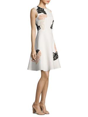 Dyfera Embroidered Dress