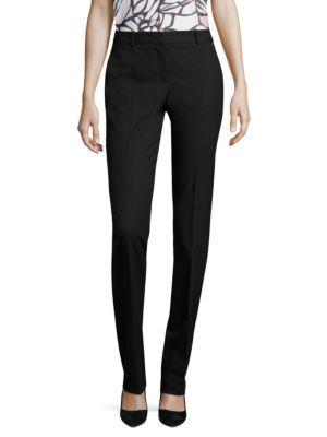 Titana Stretch-Virgin Wool Pants by BOSS