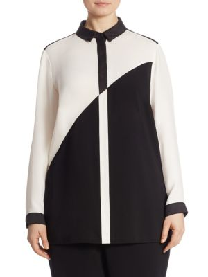 Jamila Colorblock Blouse