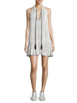 Hadley Printed Silk Dress