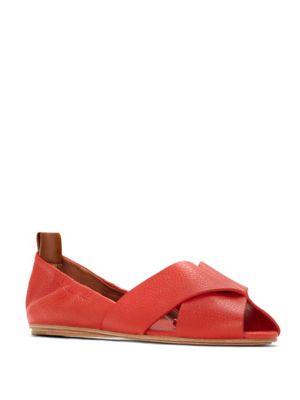 Amaia Leather Flats