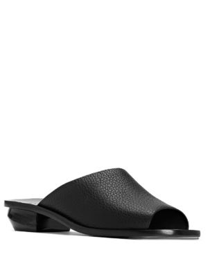 Izar Leather Slide Sandals