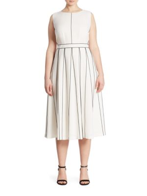 Mariposa Contrast Stitch Dress