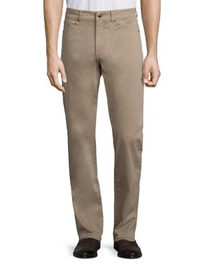 Crown Sateen Stretch Five-Pocket Pants