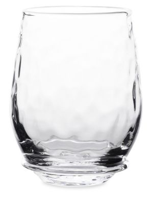Carine Stemless White Wine Glass