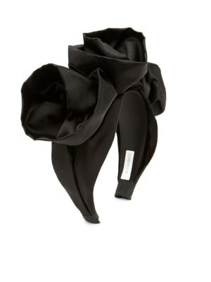 Rosette Silk Headband 0400093914361