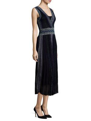 Reversible Deep V-Neck Dress