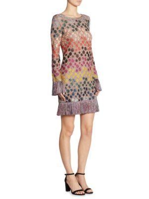 Fringe Dot Dress