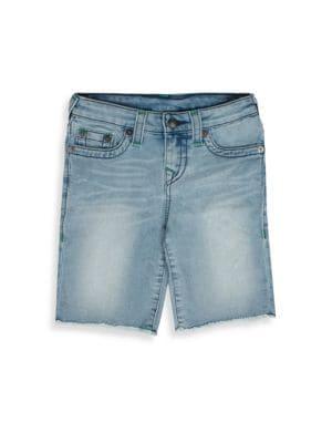 Baby's Faded Denim Shorts