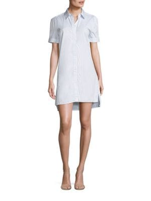Mirelle Striped Shirtdress