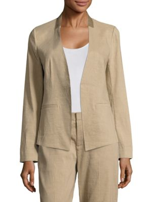 Claudia Embroidered Open Jacket