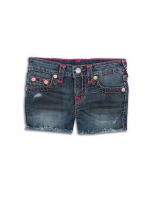 Little Girl's & Girl's Denim Shorts