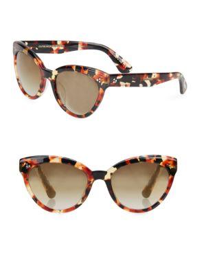 Roella 55MM Mirrored Cat Eye Sunglasses