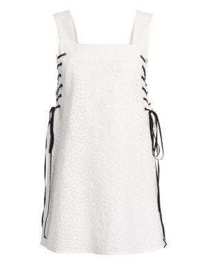 Waikiki Lace-Up Dress