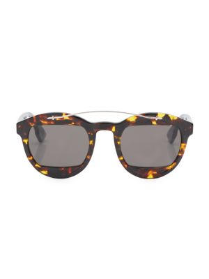 Dior Mania 50MM Mirrored Round Sunglasses