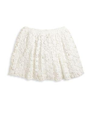 Toddler's, Little Girl's & Girl's Cotton Lace Skirt