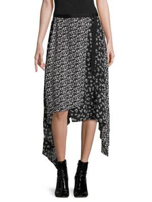 Liv Asymmetrical Wrap Skirt
